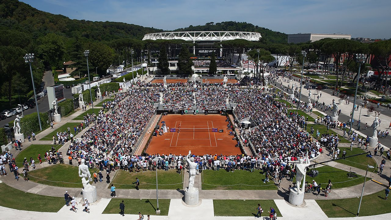 Bertuccia Open clay court.